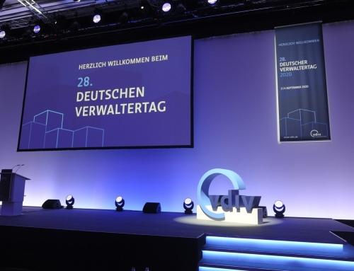 Stephan Volpp beim 28. Deutschen Verwaltertag des VDIV in Berlin