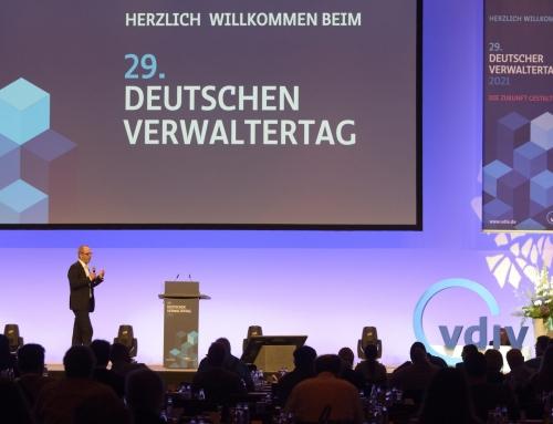 Stephan Volpp wieder Moderator des Deutschen Verwaltertags